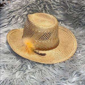 Vtg Levi's woven western hat